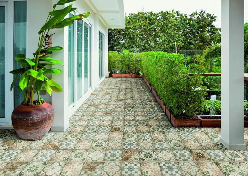 梵蒂崗石-地毯花磚