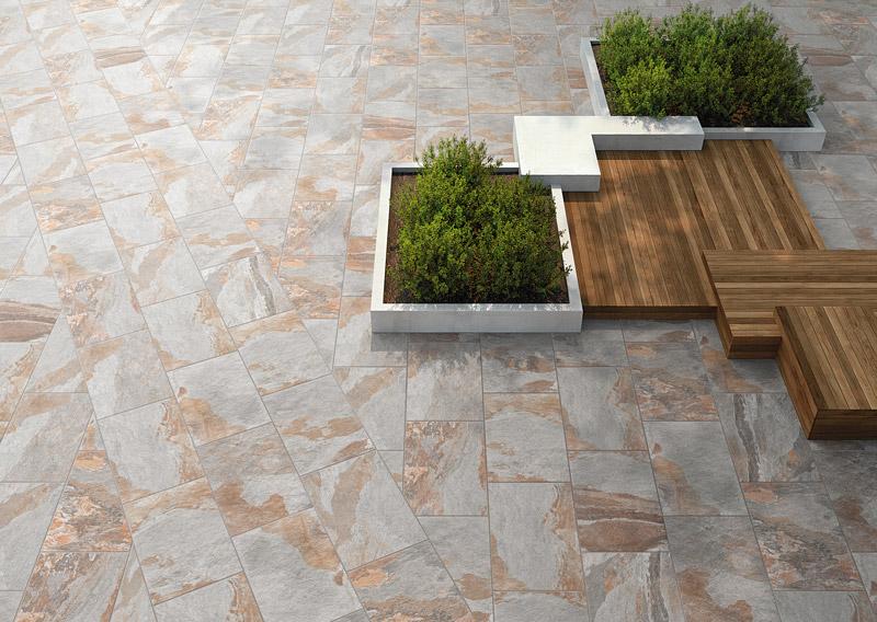 岩藝-天然板岩磚