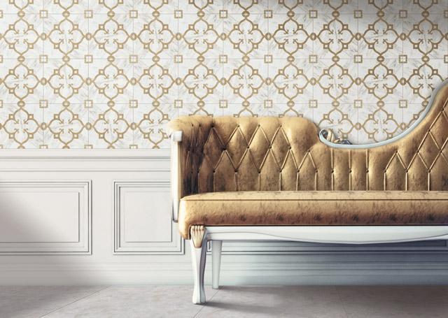 洛可可-地毯花磚