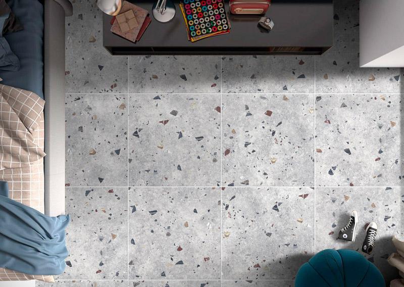 百花巷-磨石磚